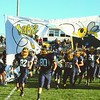 Brittany Chay - The News-Herald<br /> The Kirtland Hornets take the field against Grand Valley.