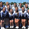 Paul DiCicco - The News-Herald<br /> Lake Catholic cheerleaders pose during the Cougars' victory over Cleveland Central Catholic on Sept. 3 in Cleveland.