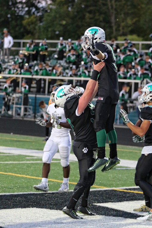 . Tim Phillis - The News-Herald Action from the Nordonia-Mayfield game on Sept. 8.