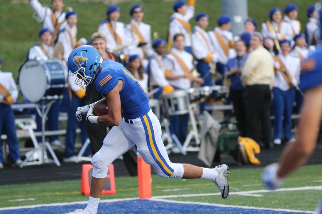 . David Turben - The News-Herald NDCL\'s Anthony Rabil scores a touchdown against University.