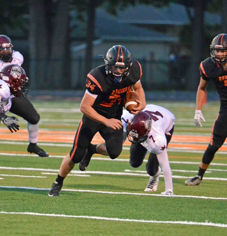 . Paul DiCicco - The News-Herald Action from the Maple Heights-Eastlake North game on Sept. 8.