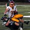 Randy Meyers - The Morning Journal<br /> Avon Lake running back Tyler Nelson is brought down by Westlake's Trevor Bielozer after a big gain on Sept. 9.