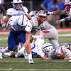 David Turben- The News-Herald<br /> Action from the Mentor-St. Xavier game on Sept. 9 at Mentor