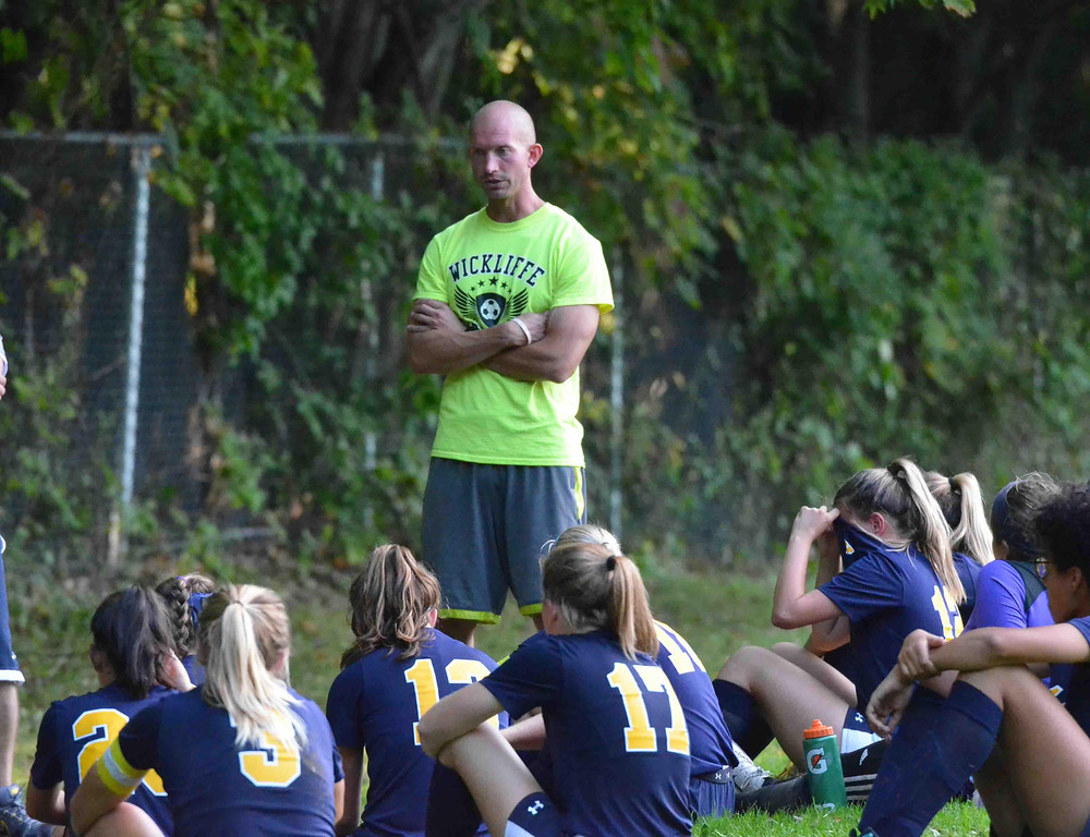 . Paul DiCicco - The News-Herald Action from the Kirtland-Wickliffe girls soccer game on Sept. 18.
