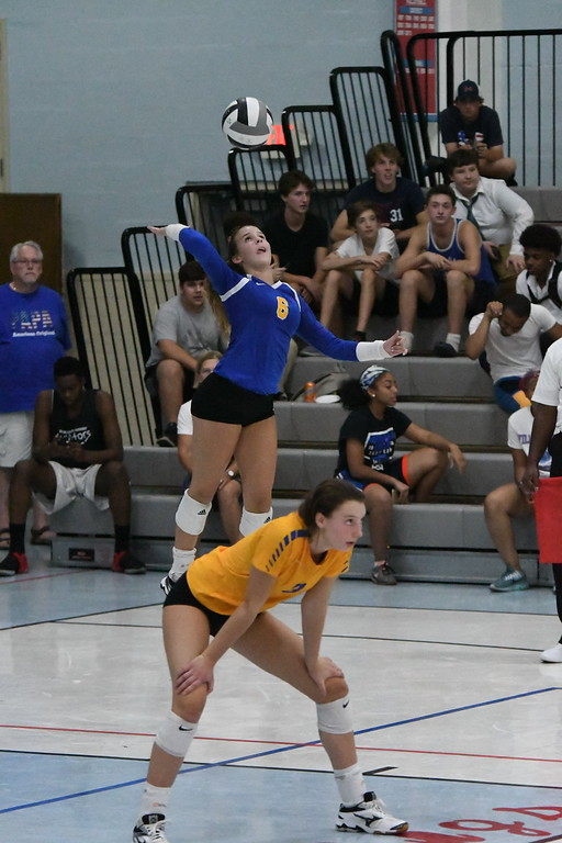 . Patrick Hopkins - The News-Herald Action from the VASJ-Independence volleyball match on Sept. 21.