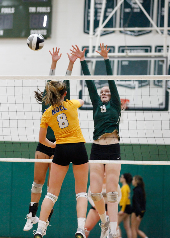 . Jenna Miller - The News-Herald Action from the NDCL-Lake Catholic volleyball match on Sept. 21 at Lake Catholic.