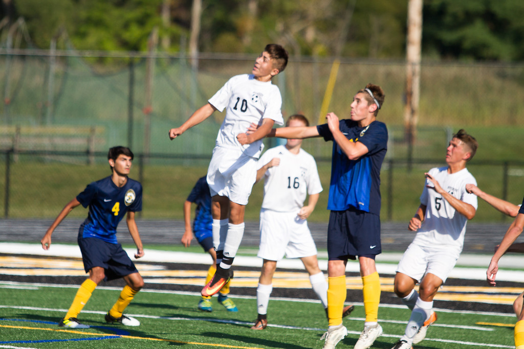 . Barry Booher - The News-Herald Action from the Kirtland-Riverside boys soccer match on Sept. 21.
