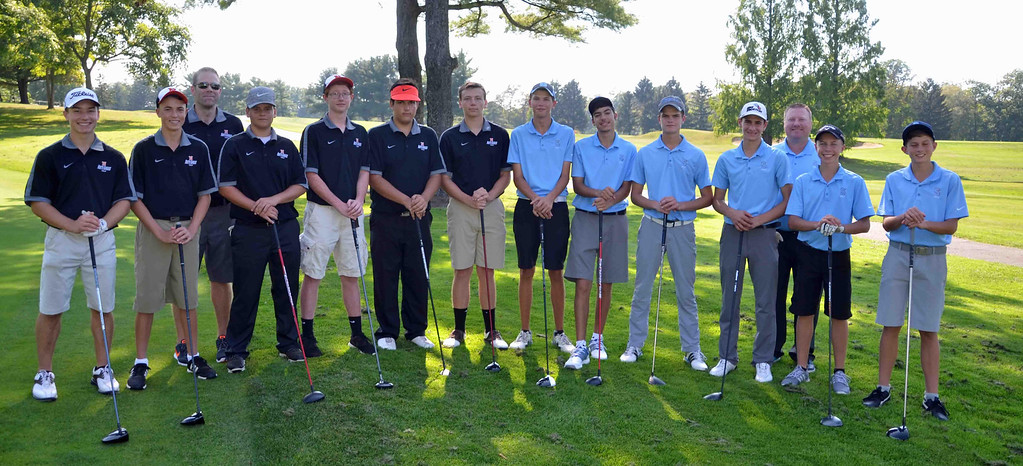 . Paul DiCicco - The News-Herald Western Reserve Conference Golf match between the North High School Rangers and South High Rebels at Manikiki Golf Course in Willoughby Hills on Sept 21.