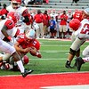Brittany Chay - The News-Herald<br /> Mentor running back Isaiah Gullick vs. Shaker Heights.