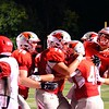 Brittany Chay - The News-Herald<br /> Mentor players celebrate during their win over Shaker Heights.