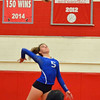 Paul DiCicco - The News-Herald<br /> Gilmour's Katie Forsythe during the NEO Power tournament on Sept. 25 at Mentor.