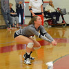 Paul DiCicco - The News-Herald<br /> Mentor's  Kaitlyn Hartman during the NEO Power tournament on Sept. 25 at Mentor.