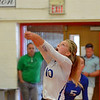 Paul DiCicco - The News-Herald<br /> Gilmour's Kenzie O'Conner during the NEO Power tournament on Sept. 25 at Mentor.