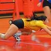 Paul DiCicco - The News-Herald<br /> NDCL's  Jenna Lombardo during the NEO Power tournament on Sept. 25 at Mentor.