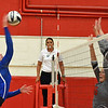 Paul DiCicco - The News-Herald<br /> Gilmour's Julia Brzozowski, during the NEO Power tournament on Sept. 25 at Mentor.