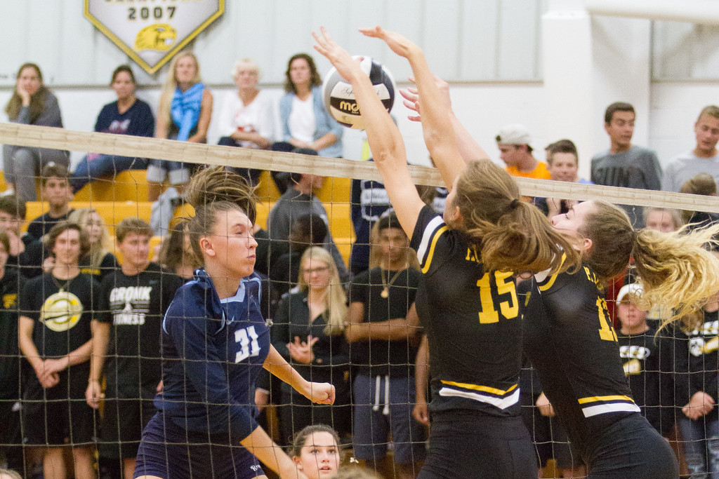 . Barry Booher - The News-Herald Scenes from the Riverside-Kenston volleyball match on Oct. 12.