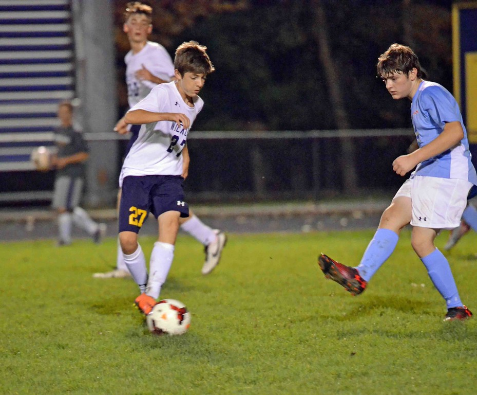 . Paul DiCicco - The News-Herald Photos from the Wickliffe-VASJ boys soccer match on Oct. 12 at Wickliffe.