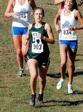 Lainie Ricker finished near the top of the field for Pendleton Heights.