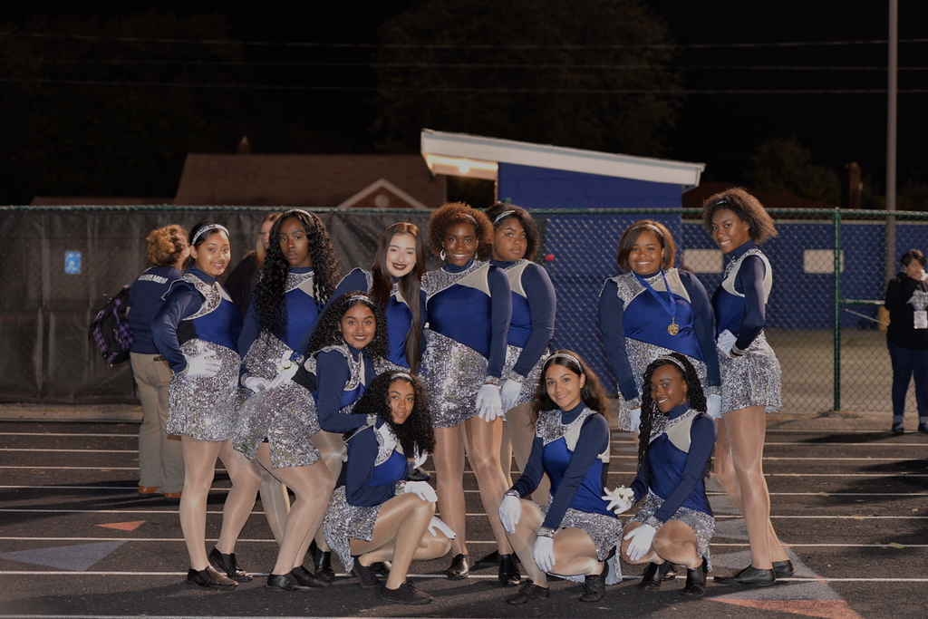 . Aimee Bielozer - The Morning Journal<br> The Lorain dance team poses for a photo on Oct. 13.