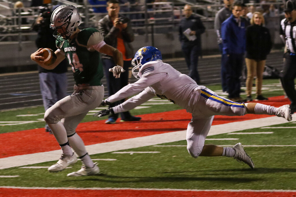 . 2017 - Football - NDCL at Lake Catholic.  NDCL defeated Lake Catholic 45-14.