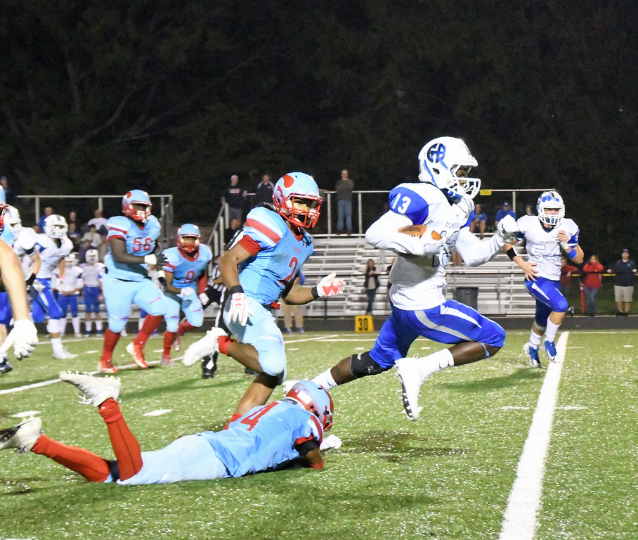 . Patrick Hopkins - The News-Herald Photos from the VASJ-Euclid game on Oct. 14 at Euclid.