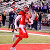 Brittany Chay - The News-Herald<br /> Manning Trubisky scores a touchdown during Mentor's victory over visiting Strongsville on Oct. 13.