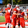 Brittany Chay - The News-Herald<br /> Chris Edmond scores a touchdown during Mentor's victory over visiting Strongsville on Oct. 13.