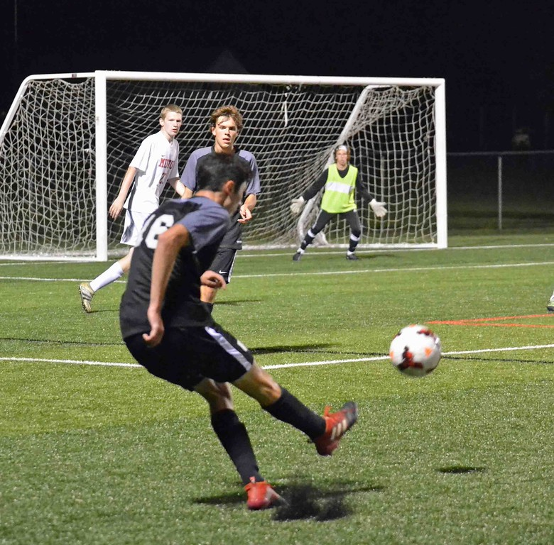 . Paul DiCicco - The News-Herald Photos from University-Mentor soccer match on Oct. 14, 2017, at Mentor.