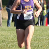 Randy Meyers - The Morning Journal<br /> Claire Robertson of Avon takes first during the Girls  Varsity Cross Country 5K at the Southwest Conference  Championships on Saturday