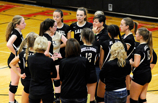 Don Knight | The Herald Bulletin<br /> Wapahani hosted Lapel in the sectional opener on Tuesday.