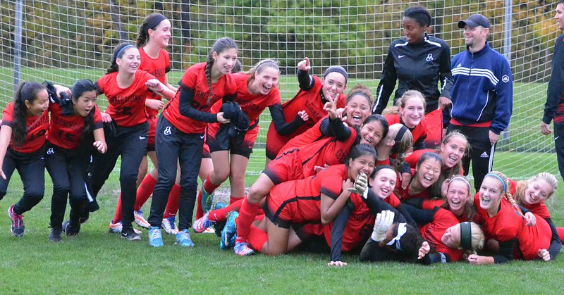 Paul DiCicco - The News-Herald<br /> Action from the Cornerstone-Wickliffe soccer Division III sectional final on Oct. 20.
