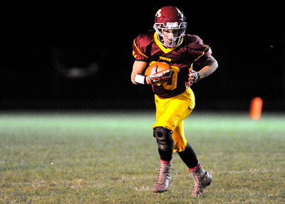 Don Knight | The Herald Bulletin Alexandria hosted Elwood during the sectional opener on Friday.