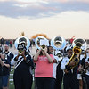 Eric Bonzar—The Morning Journal<br /> The Sandusky High School Alumni Band entertains the crowd before the start of the Blue Streak's game against the Lorain Titans, Oct. 7, 2016. The Titans would crash the Blue Streak's homecoming party with a 24-23 win.