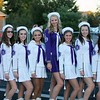 Randy Meyers - The Morning Journal<br /> Vermilion's baton members are McKenna Kidd, Erin Konrad, Kennedy Naill, Haley Nabors, Erin Scarvelli, Shelbey Horvath, Liberty Oliver and Alexis Scarvelli.