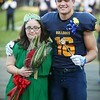 Randy Meyers - The Morning Journal<br /> Olmsted Falls crowned a homecoming king and queen on Friday. Lulu Mustafa and Andrew Turski are honored before the game.