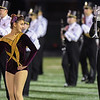 Eric Bonzar—The Morning Journal<br /> The Avon Lake Marching Band warms up the crowd, Oct. 21, 2016.