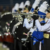 Eric Bonzar—The Morning Journal<br /> The Avon Lake and Midview marching bands perform the National Anthem, Oct. 21, 2016.