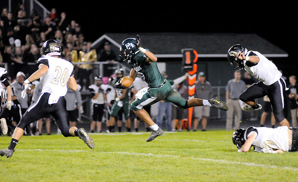 Don Knight   The Herald Bulletin<br /> Pendleton Heights hosted Lebanon on Friday.