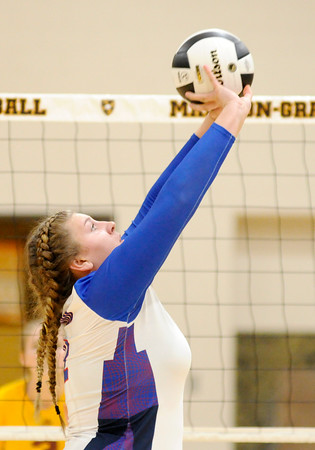 Don Knight   The Herald Bulletin<br /> Alexandria faced Elwood in the sectional final at Madison-Grant on Saturday.