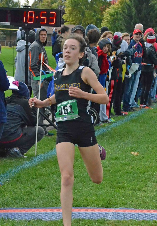 . Paul DiCicco - The News-Herald 2nd Place finish in Division II, Annie Allen, St. Joseph Academy