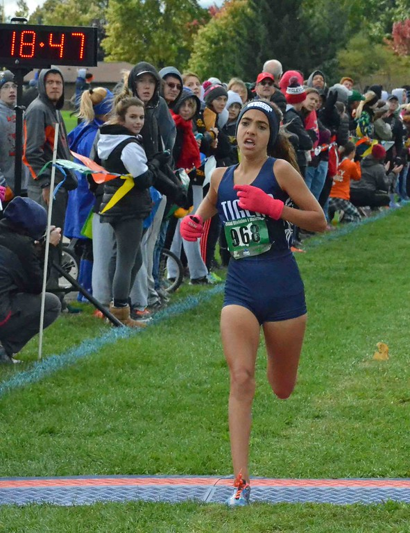 . Paul DiCicco - The News-Herald 1st Place finish in Division I, Alyssa Deeds, Twinsburg