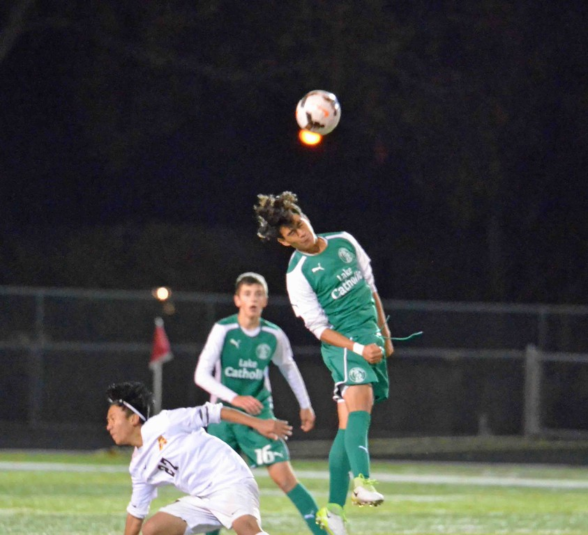 . Paul DiCicco - The News-Herald Photos from the Brush-Lake Catholic boys soccer match on Oct. 25, 2017, at Brush.