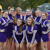 Randy Meyers - The Morning Journal<br /> Avon's varsity cheerleaders pose prior to Friday's game against Olmsted Falls.