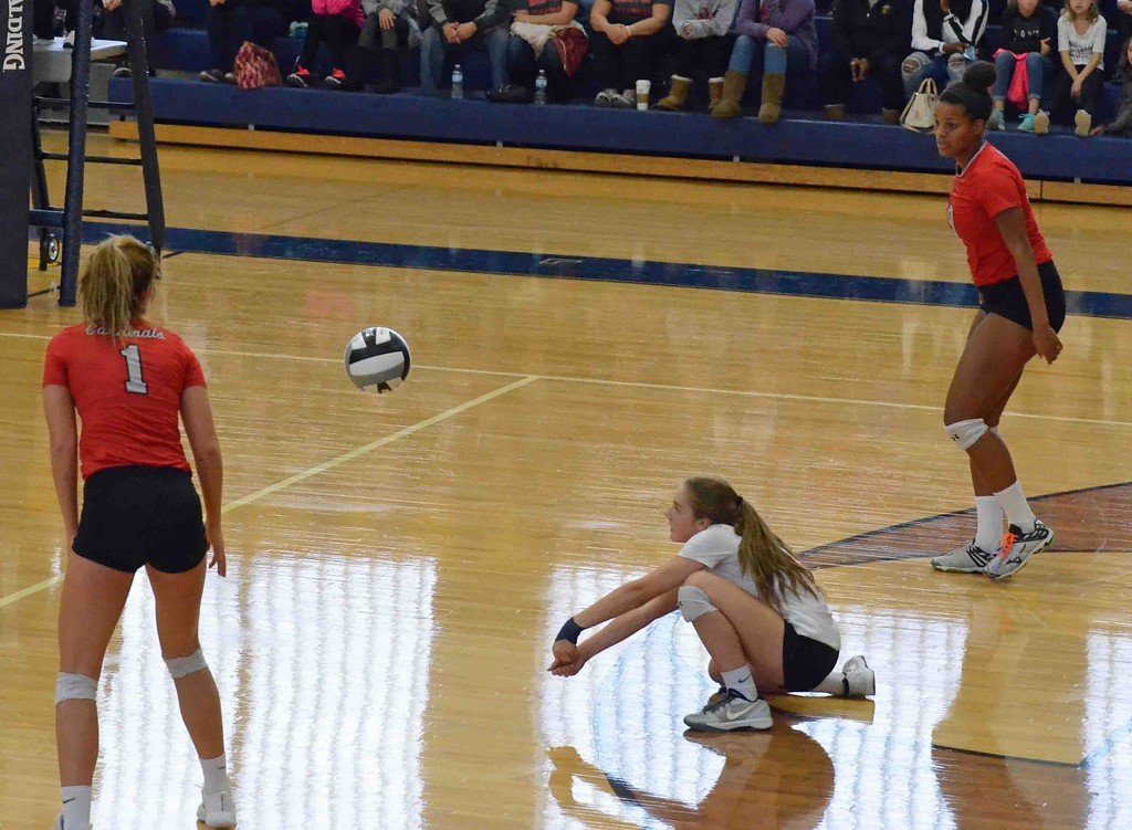 . Paul DiCicco - The News-Herald Photos from the Riverside-Mentor volleyball match on Oct. 28, 2017, at Euclid.