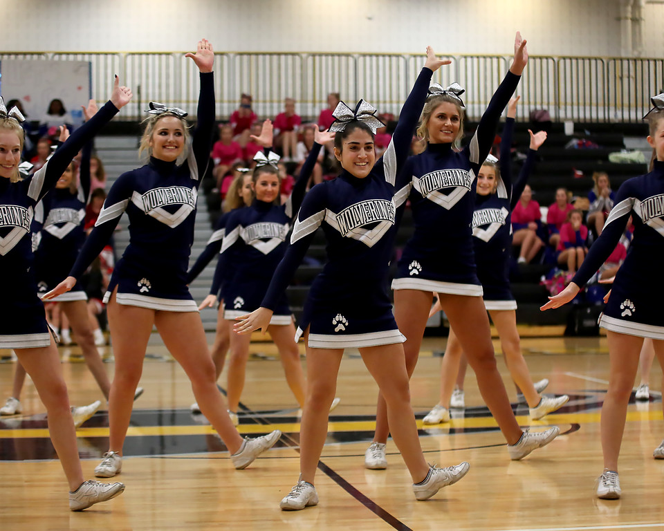 . Coleen Moskowitz - The News-Herald The CVC Cheerleading Showcase was Oct. 29 at Beachwood High School.