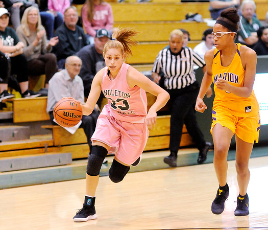 Don Knight | The Herald Bulletin<br /> Pendleton Heights hosted Marion on Tuesday.