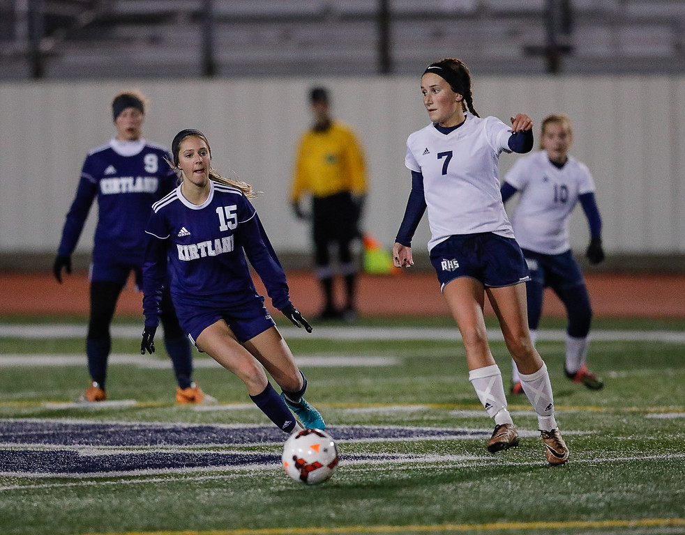 . Anton Albert - The News-Herald Photos from the Kirtland-Rootstown Division III regional semifinal soccer match on Oct. 31 at Solon.
