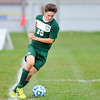 John P. Cleary | The Herald Bulletin<br /> Pendleton Heights vs Hamilton SE in boys soccer sectional play.