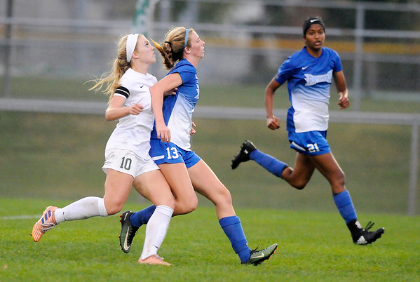 Don Knight | The Herald Bulletin<br /> Soccer sectional at Hamilton Southeastern on Thursday.
