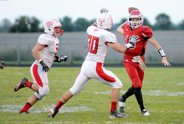 Don Knight   The Herald Bulletin<br /> Frankton hosted Mississinewa on Friday.
